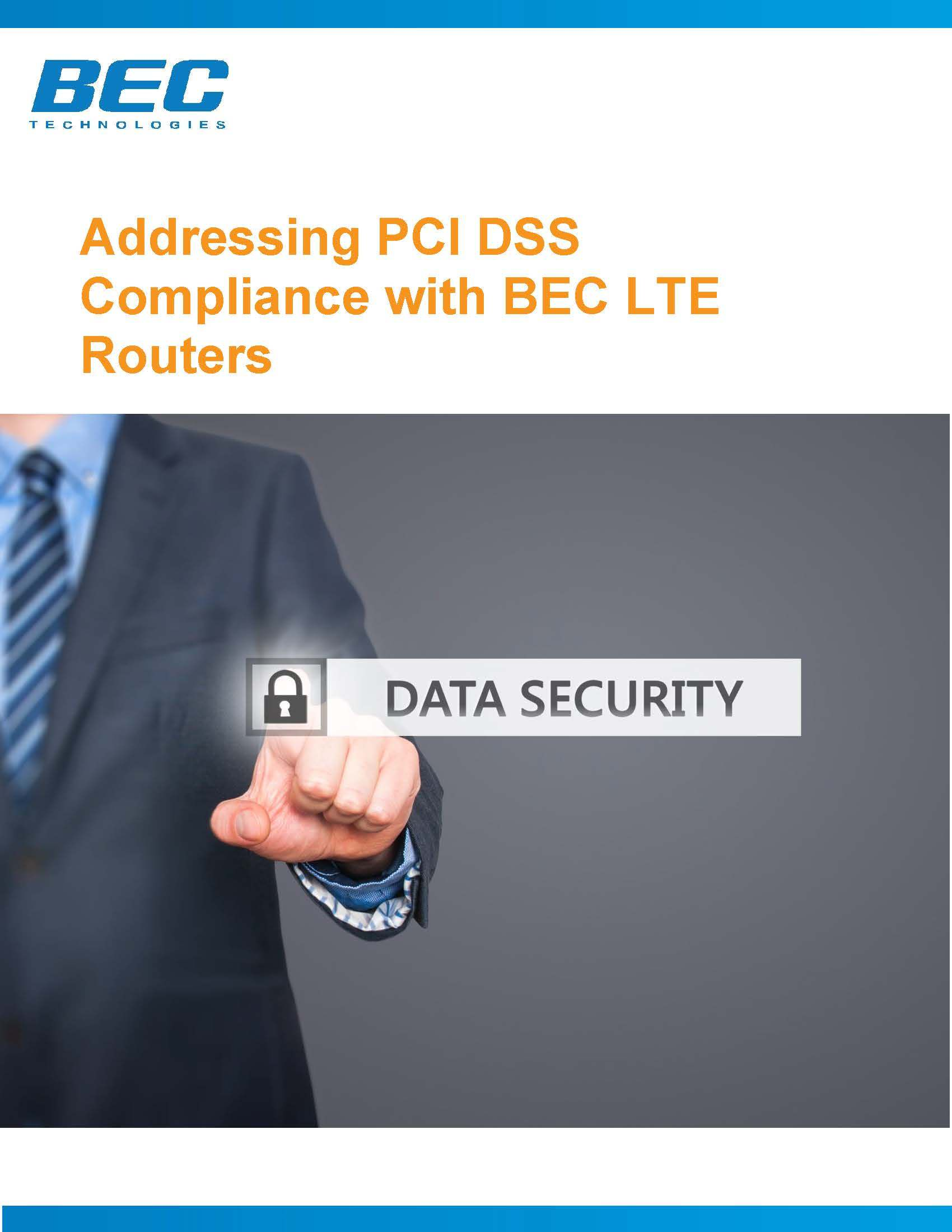 Addressing PCI DSS Compliance with BEC LTE Routers