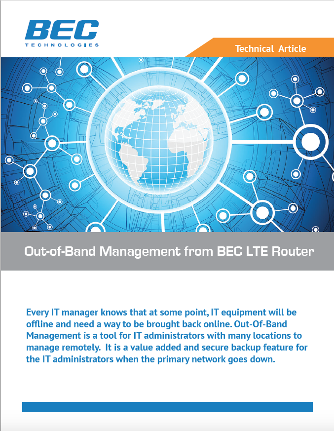 BEC Out-Of-Band Management