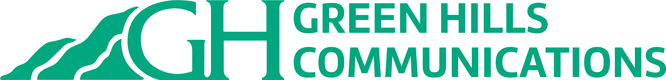 Green Hill Communications Logo green