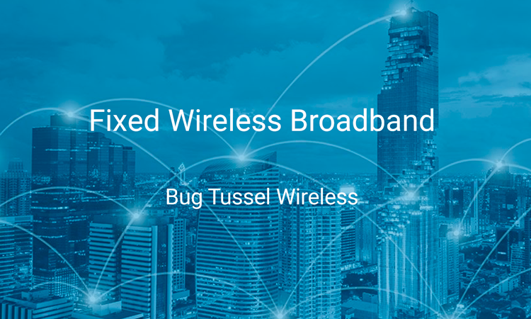 Fixed Wireless Broadband, connected city.