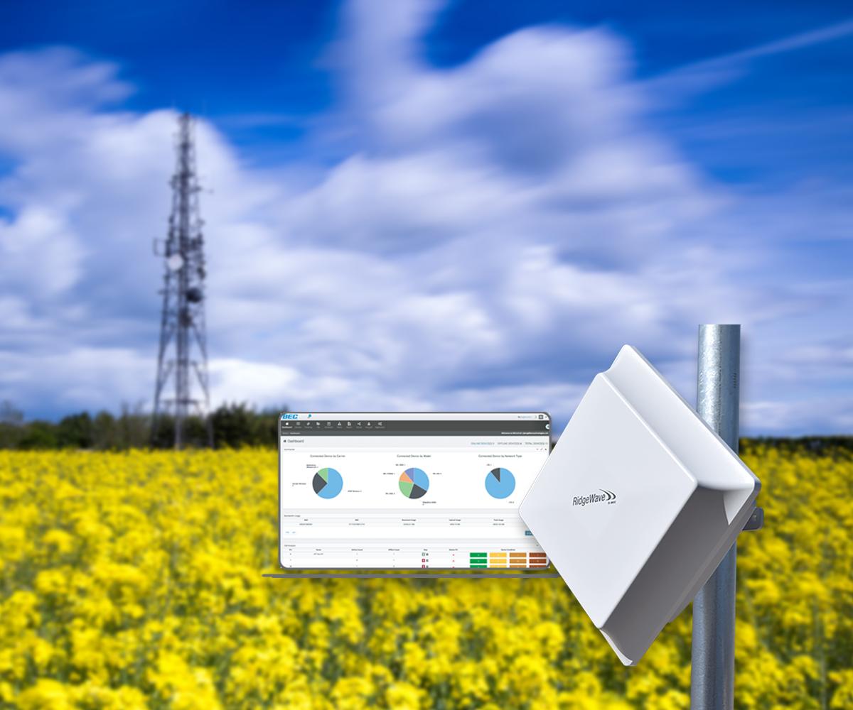 RidgeWave® BEC 6900 Series Outdoor Router, Fixed Wireless Access