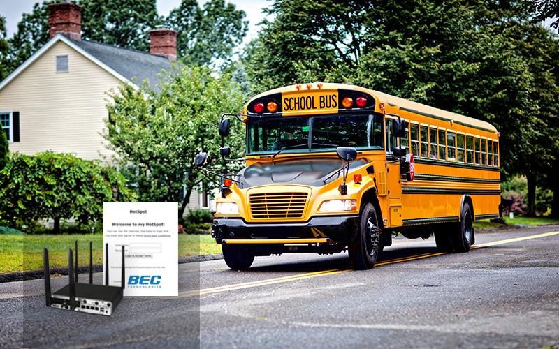 BEC School Bus Wi-Fi Solutions